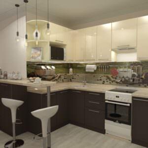 Кухня премиум-23