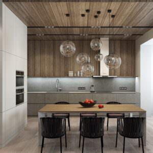 дизайн кухни в шпоне