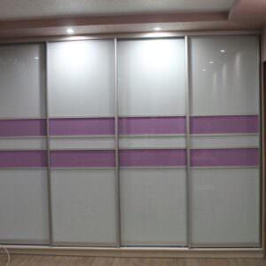 4-х дверный шкаф-купе в спальню
